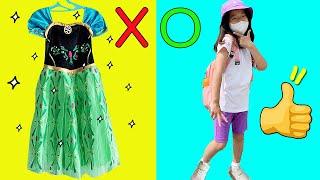 수지의 초등학생 등교패션 최애템 공개!! 공주드레스 말…