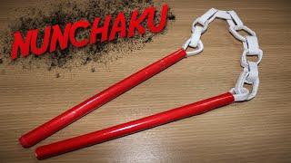 Como Fazer um Nunchaku (Arma Ninja)