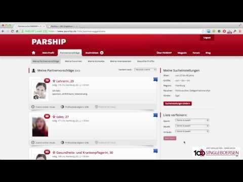 Parship   Die Bedienung im Test