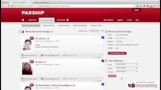 Parship | Die Bedienung im Test