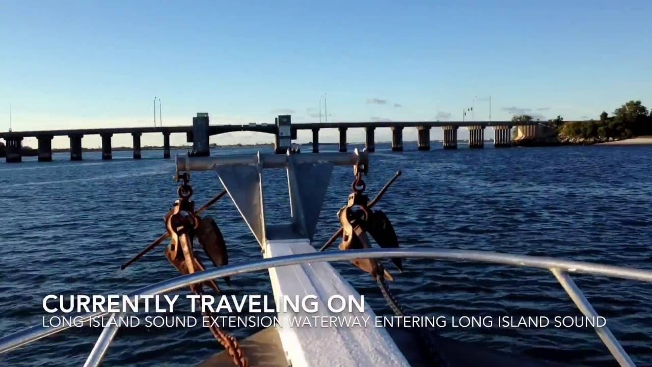 New york suffolk county sound beach - Traveling At Sea On The Long Island Sound Suffolk County Long Island New York Hd