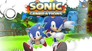 SONIC GENERATIONS - GAMEPLAY DO INÍCIO [LEGENDADO EM PT-BR]