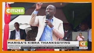 Mariga's Kibra thanksgiving