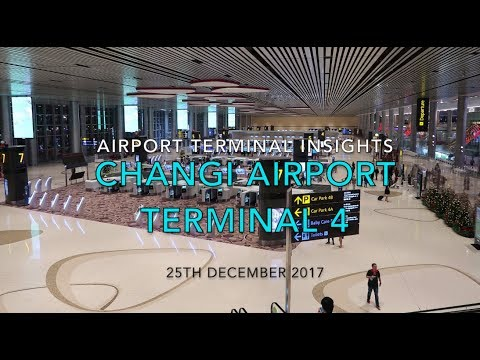 Singapore Changi Airport Terminal 4 Insights and REVIEW