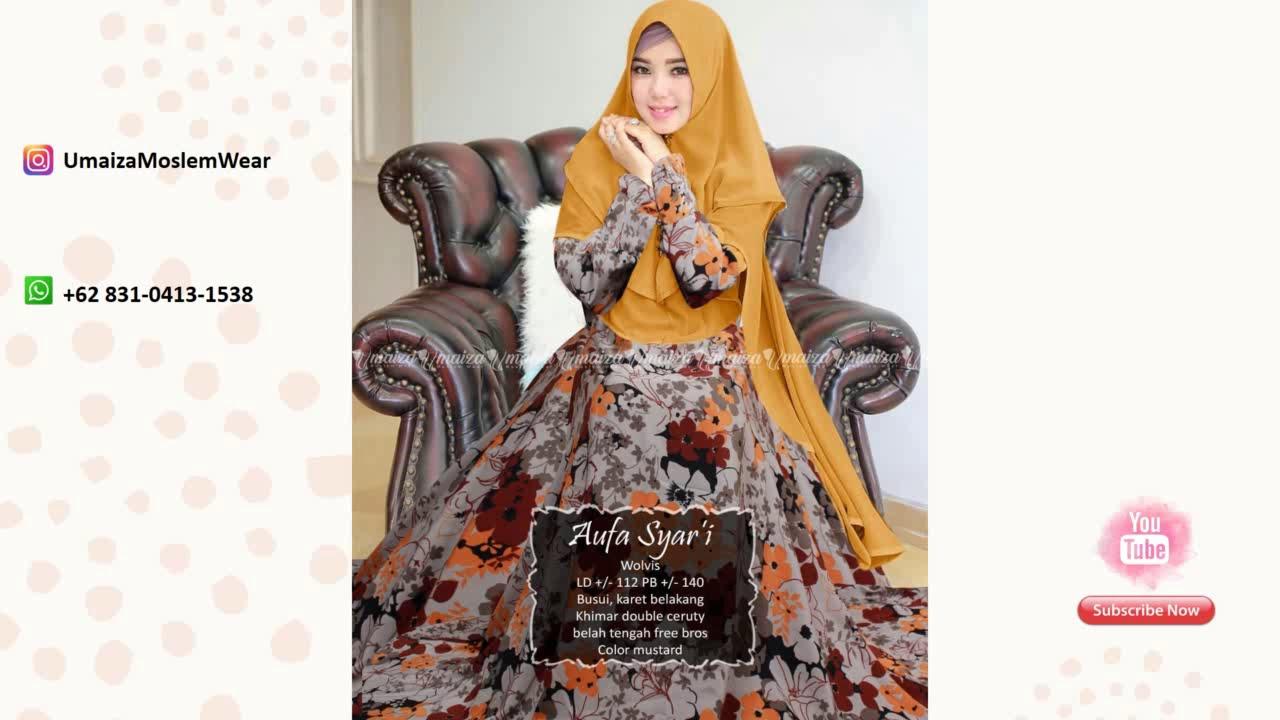 Model Baju Gamis Brokat Orange Wa 62 831 0413 1538 Baju Dress Wanita