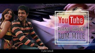 Tum Mile [Love Reprise] (Piano Cover)||Pritam|| Karaoke || Instrumental || Karaoke|| Lyrics.