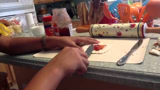 Snack For Kids ~peanut Butter Jelly Rolls