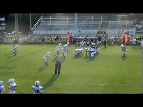 8 year old Mad Max Quarterback Sack and Fumble