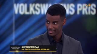 Alexander Isak utnamnd till arets Allsvenskans nykomling