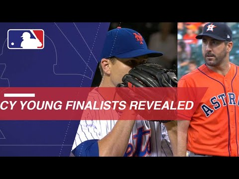 MLB announces the 2018 Cy Young Award finalists