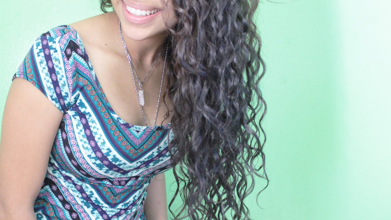 The Curly Girl Method - YouTube
