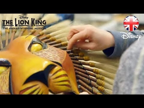 THE LION KING MUSICAL | Behind The Scenes With Masks and Puppet Department | Official Disney UK