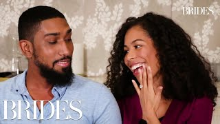 Internet Couples Talk About Their First Dates In Real Life | BRIDES