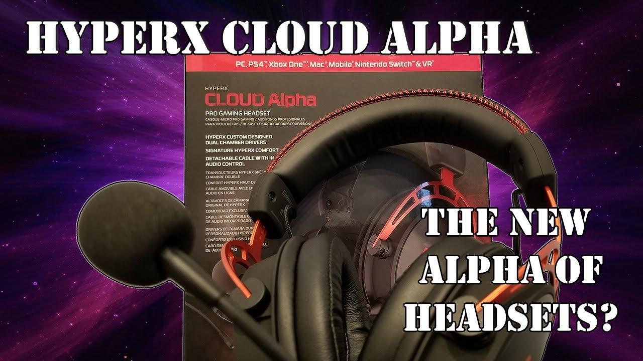 a45770710e9 HyperX Cloud Alpha Pro Gaming Headset