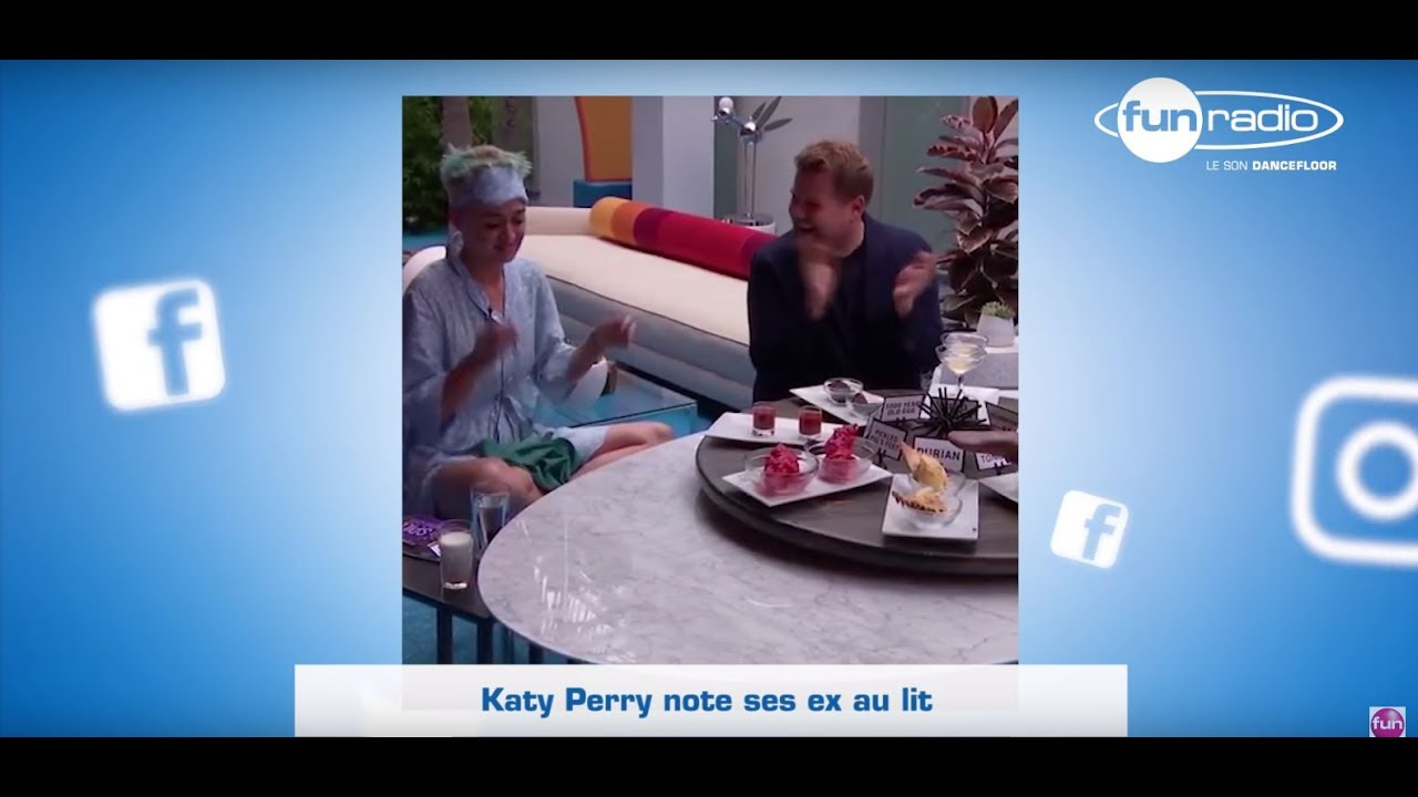 katy perry note ses exs au lit youtube. Black Bedroom Furniture Sets. Home Design Ideas
