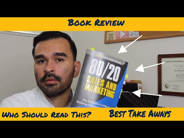 Book Review | 80 20 Rule | Sales & Marketing By Perry Marshall