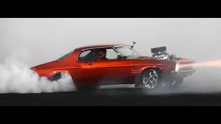 MRBADQ FINALS  BURNOUT AT BRASHERNATS SYDNEY 2015