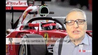 COME CAMBIA LA FORMULA UNO 2019, LUCI E OMBRE