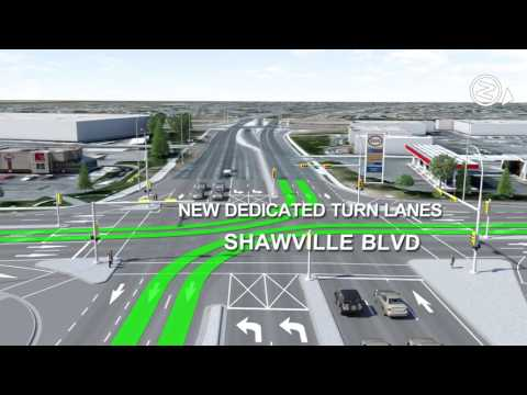 How to use the diverging diamond interchange