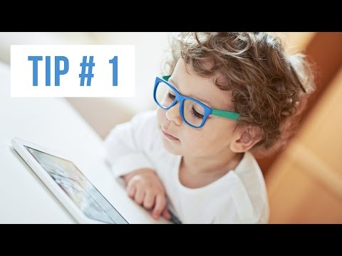 Tip # 1: Look away from the computer screen