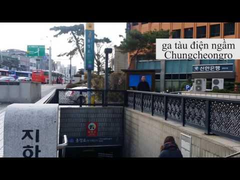 Giao thông công cộng Hàn Quốc (tàu/xe)- Xin chào Kimchi