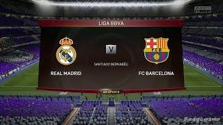 Real Madrid Vs. Barcelona Fifa 16 Full Gameplay | Fifa 16 PS4 [HD]