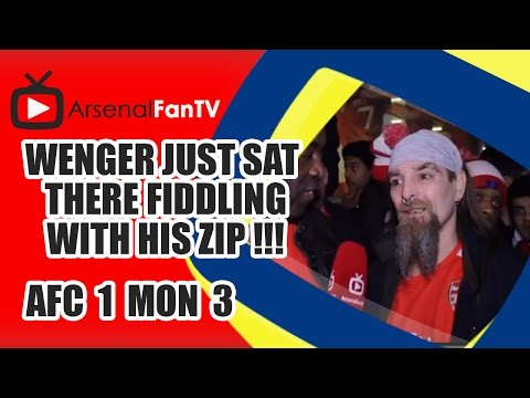 Wenger Just Sat There Fiddling With His Zip !!! - Arsenal 1 Monaco 3