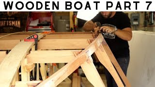 Wooden Boat Build // Part 7: Chine Logs & Scarfing Sides