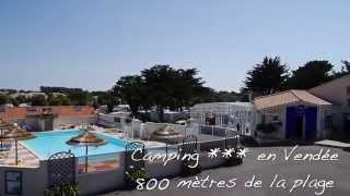 Camping Vendée 3 étoiles Le Brandais