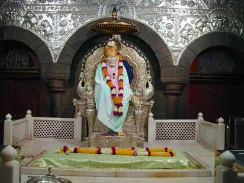 Om Shri Sainathaya Namaha - Shirdi Sai Baba Mandir Mantra chanting