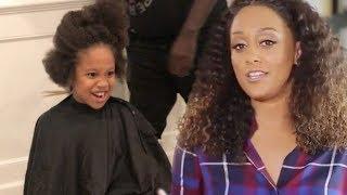 Here's Why Tia Mowry-Hardrict Finally Cut Son Cree's Hair