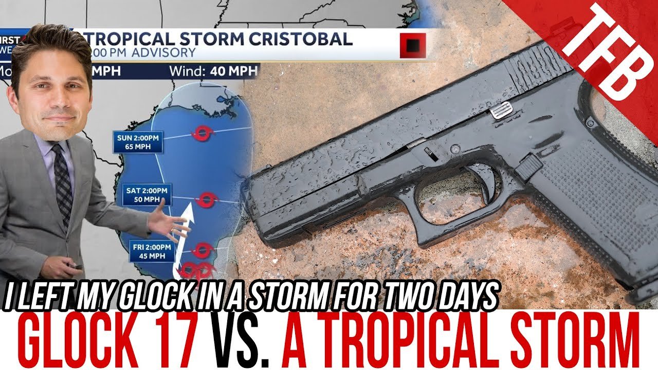 I Left my Glock 17 Outside During a Tropical Storm for 2 Days