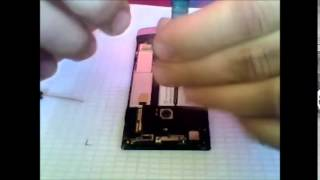 sony xperia p battery removed  /with sound/