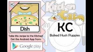 Baked Hush Puppies - Kitchen Cat