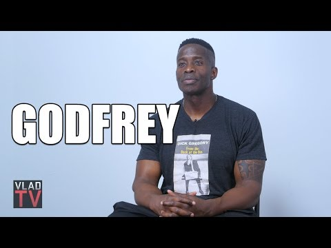 Godfrey on Being Asked to Be More Like Kevin Hart During Auditions Part 1