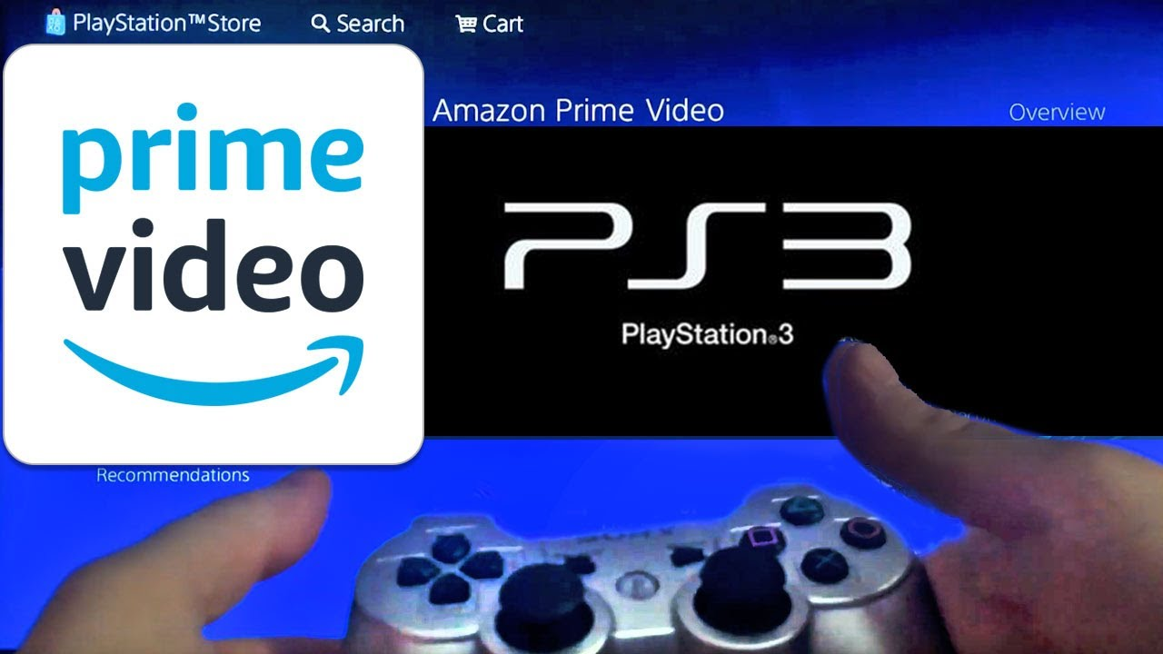 How To Watch Amazon Prime Video On Ps3 Playstation Youtube
