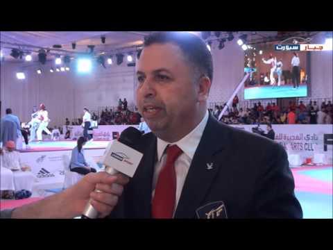 Chakir Chelbat talks about Fujairah Taekwondo Championship