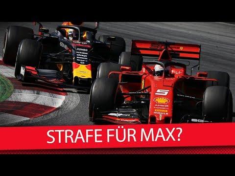 Hätte Verstappen bestraft werden müssen? – Formel 1 2019 (MSM F1 Show)