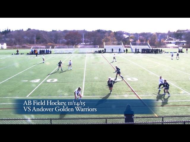 Acton Boxborough Varsity Field Hockey vs Andover 11/14/15