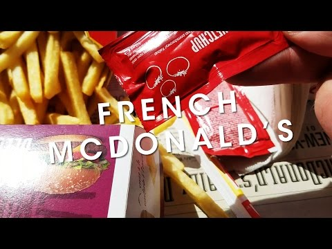 What Is McDonald's Like In Paris, France? - French Friday