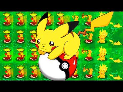 Pokémon vs. Plants vs. Zombies - Pokemon VS Zombies Gameplay Part 3