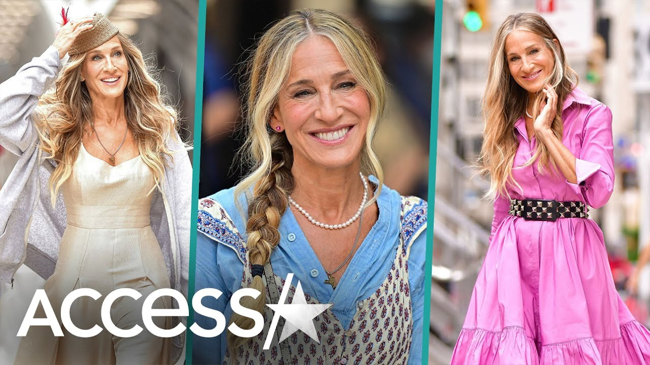 Download How Sarah Jessica Parker Rocks Carrie Bradshaw's Style In HBO Revival