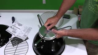 Weber Smokey Joe Silver Charcoal Grill Assembly Video