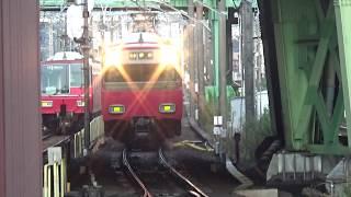 【到着!】名鉄名古屋本線 6500系 普通伊奈行き 金山駅