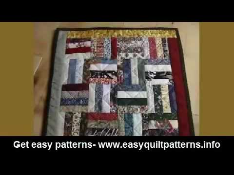 Simple Quilting Patterns For Beginners Rail Fence Quilt Photo