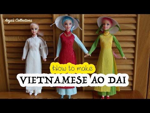 """How to tailor Vietnamese """"Ao dai"""""""