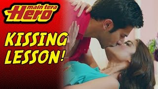 Scene From Main Tera Hero | Kissing Lesson