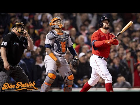 Play of the Day: Kyle Schwarber Hits Grand Slam, Red Sox Beat The Astros 12-3 | 10/19/21