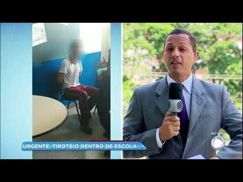Estudante fala sobre ação de atirador em tiroteio na escola de Goiânia