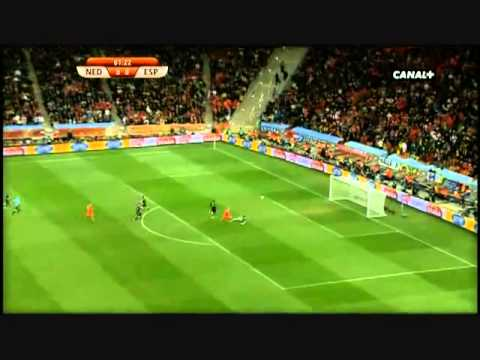 spain vs netherlands 2010 world cup
